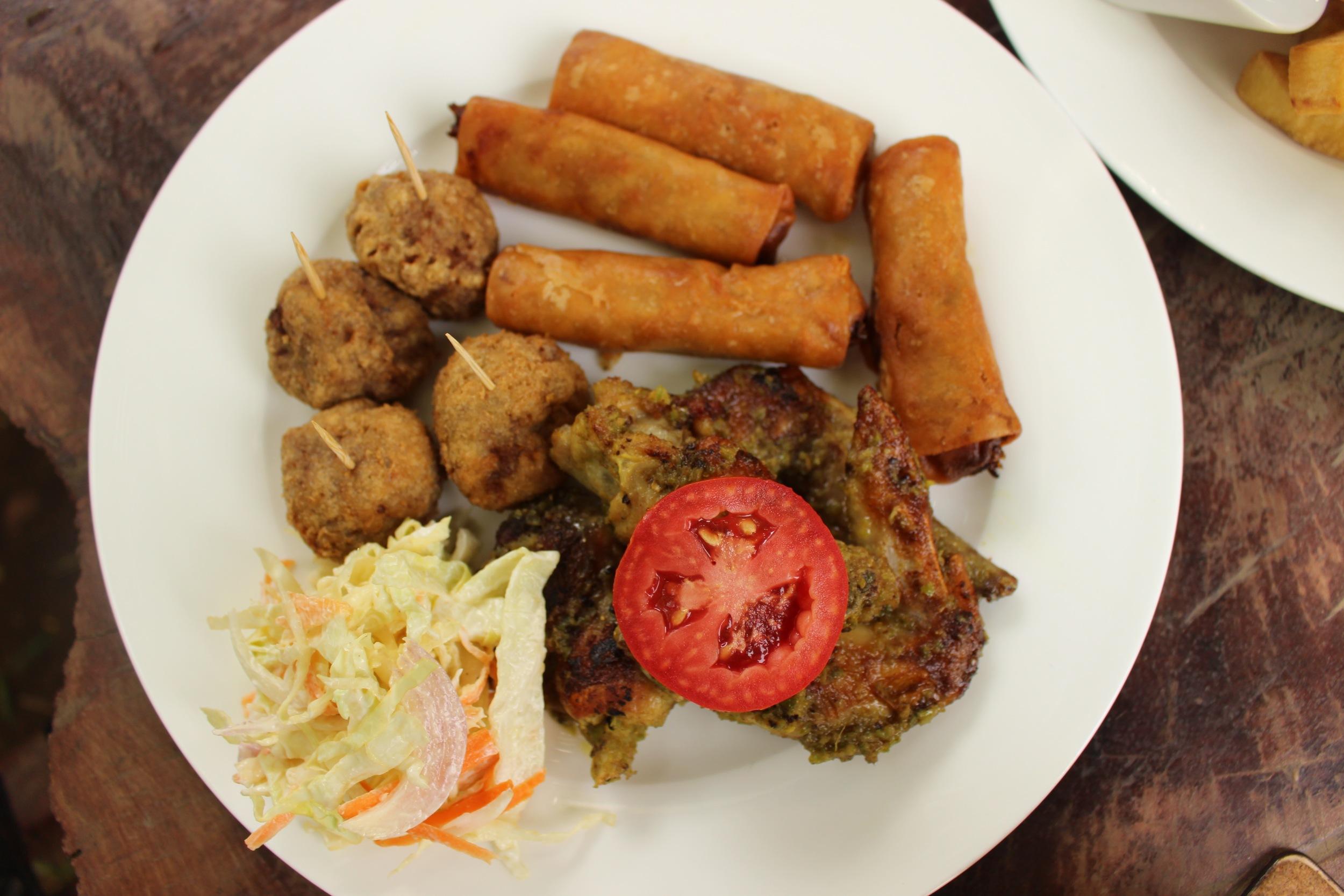 The Meat Platter, One Corner