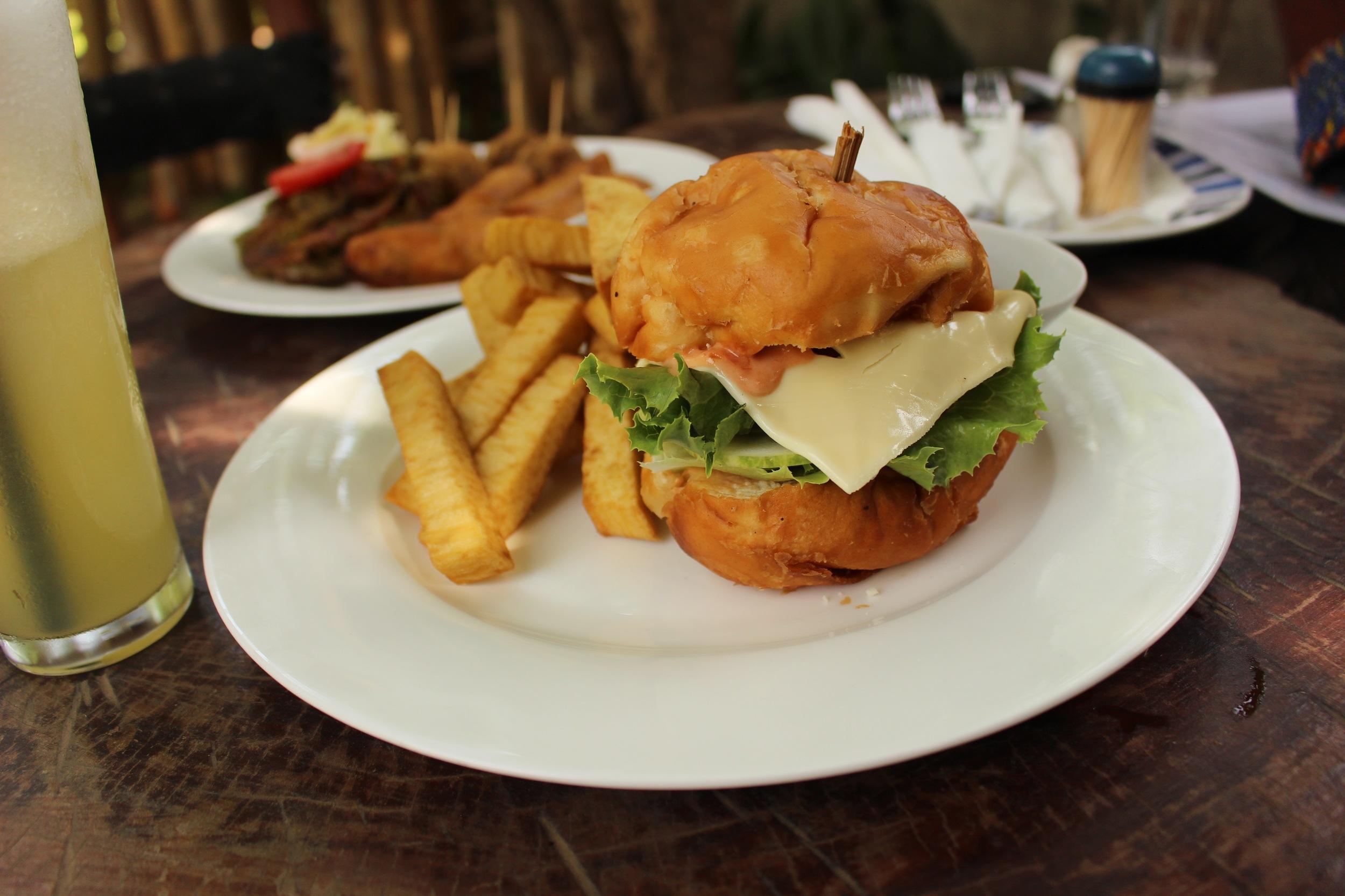The Bofloat Burger, One Corner