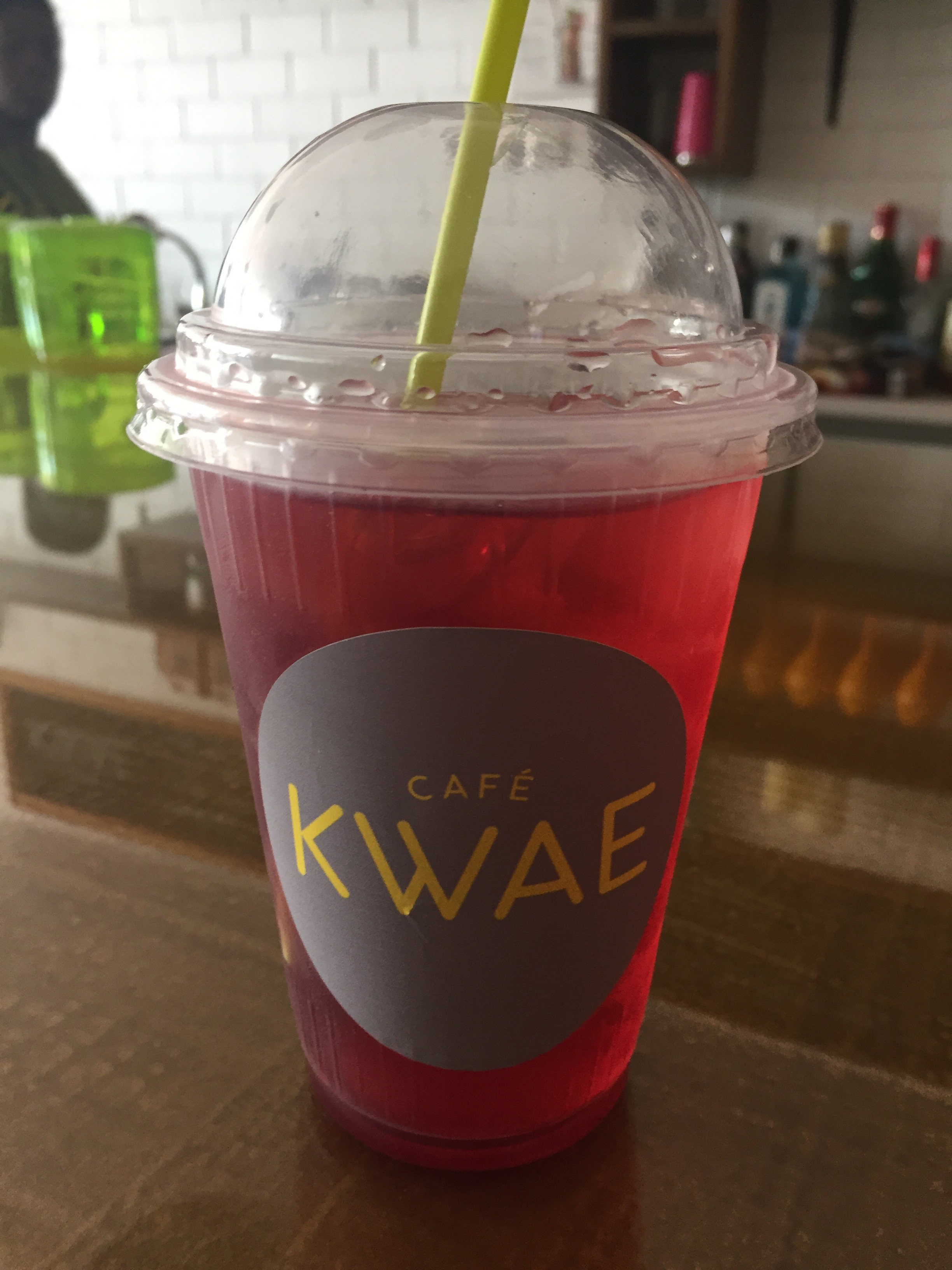 Very Berry Iced Tea, Cafe Kwae