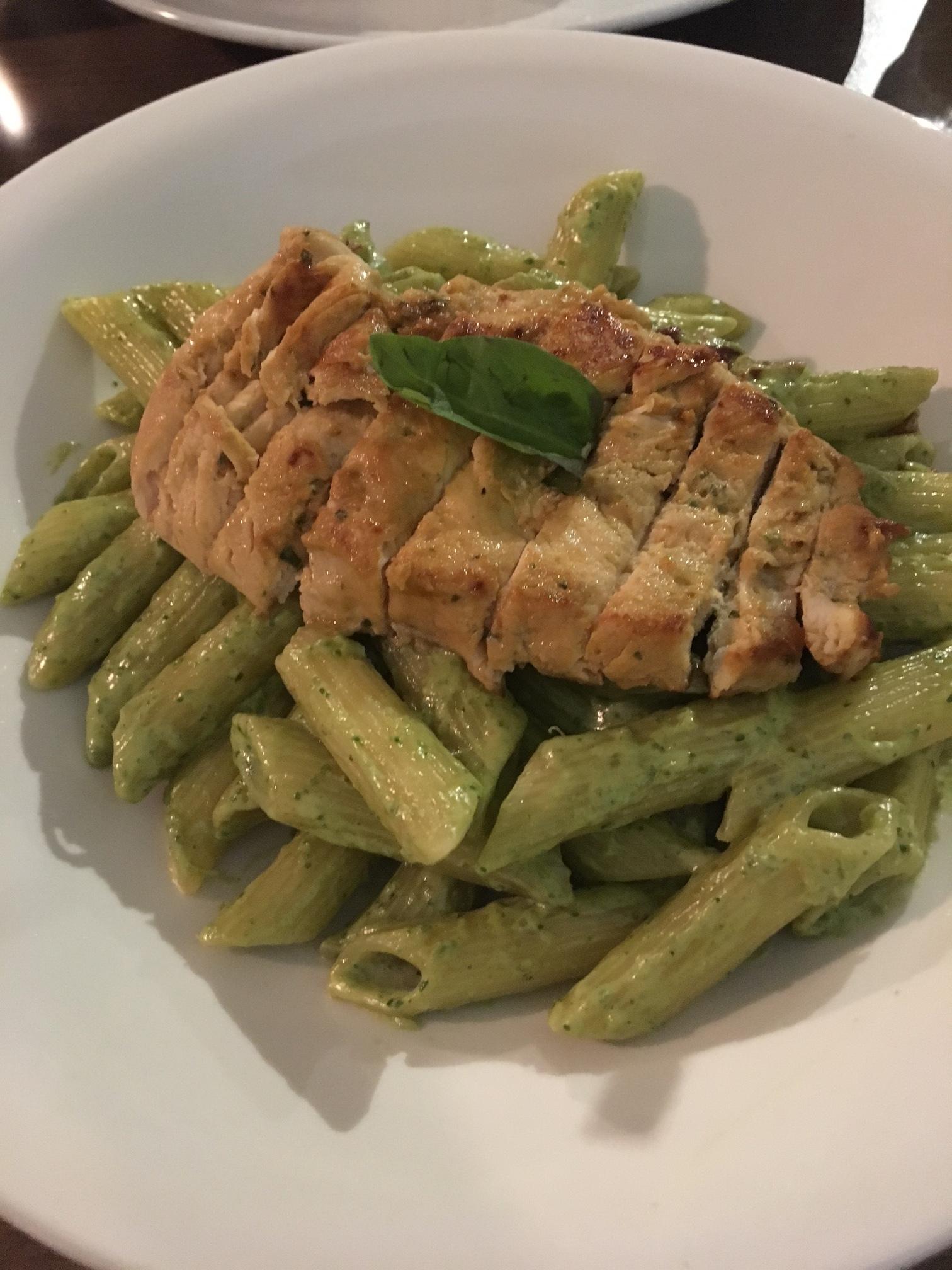 Penne Pesto Salad, Bistro 22