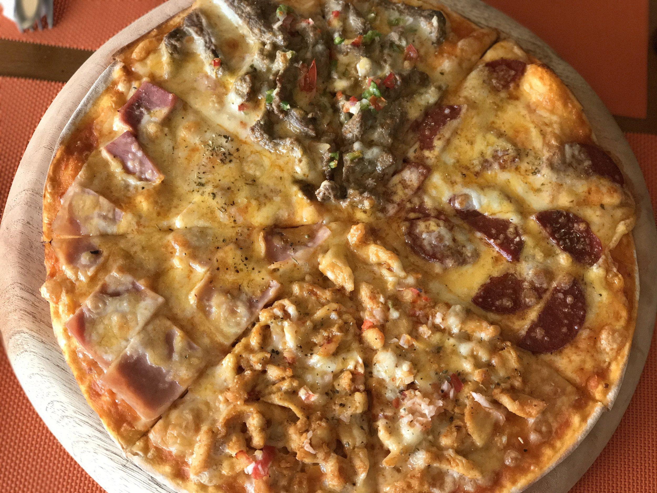 Cafe Mondo Pizza