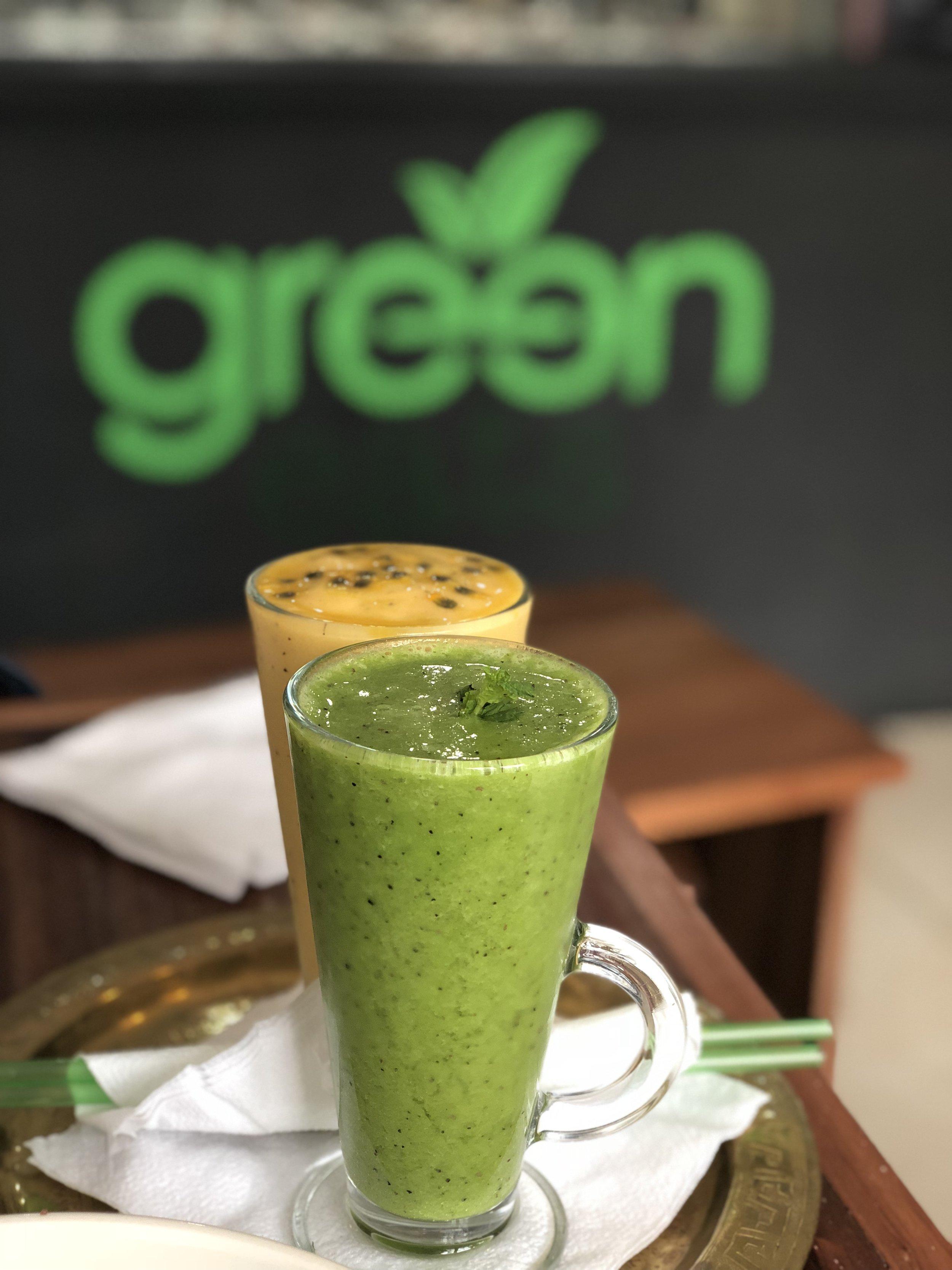 Mango Passions & Eve's Temptation, Green Eats