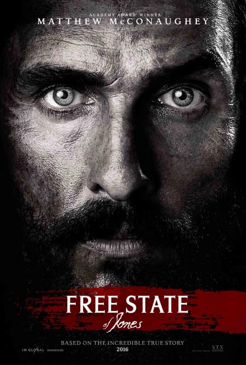 Free State of Jones   2nd Assistant Editor  Editor- Pamela Martin, ACE    TRAILER