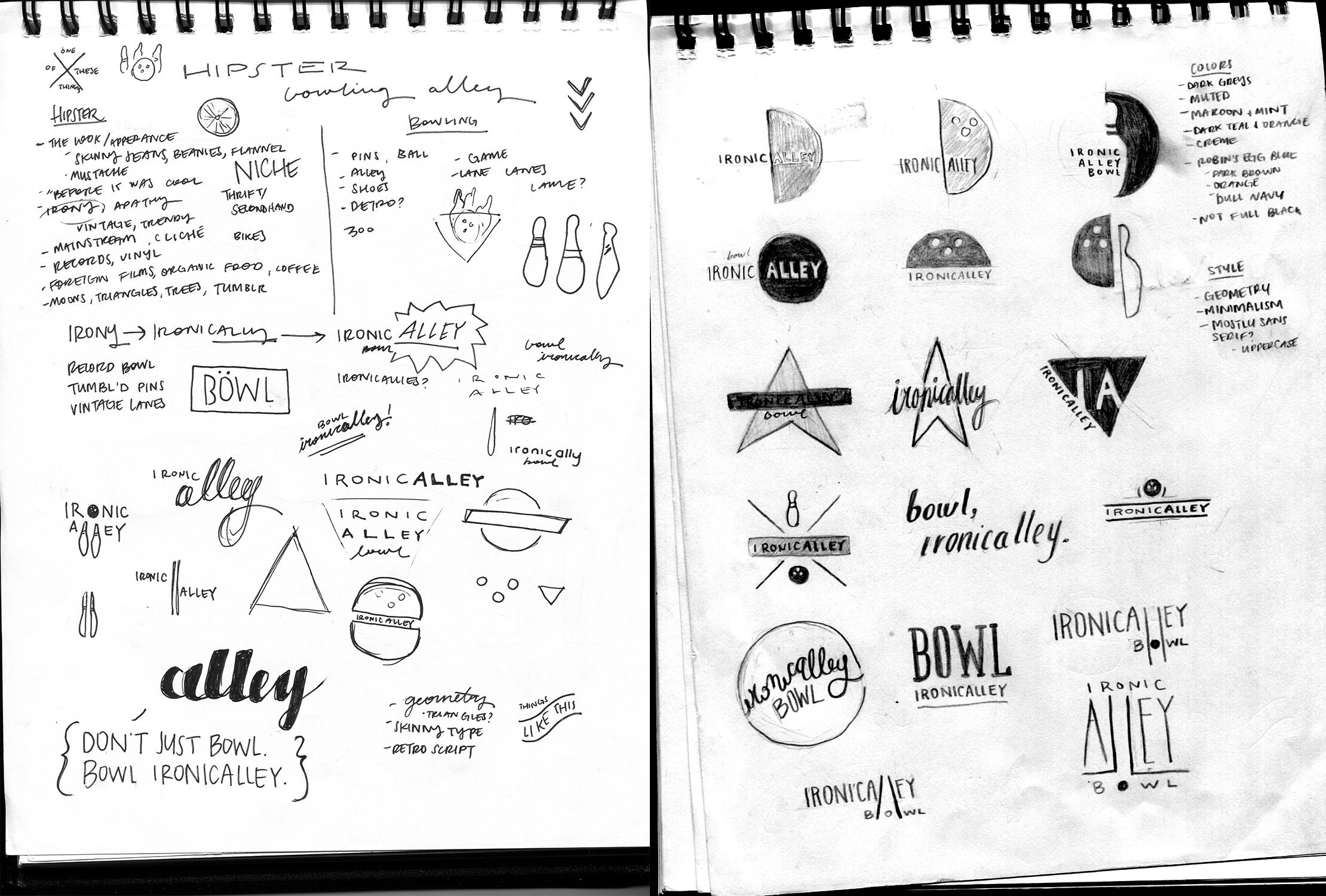 a little preliminary brainstorming