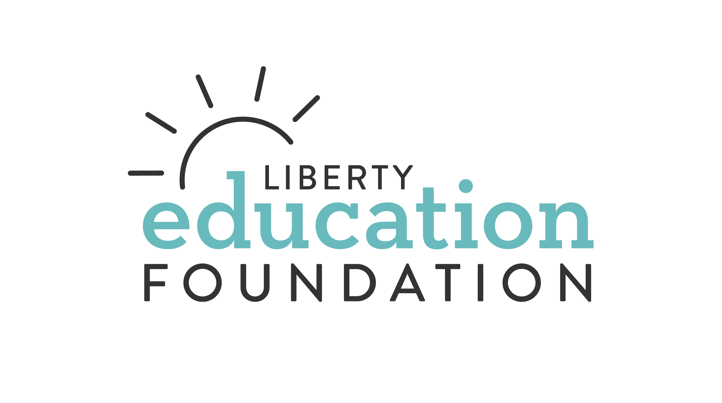 Redesigned logo for the Liberty Education Foundation