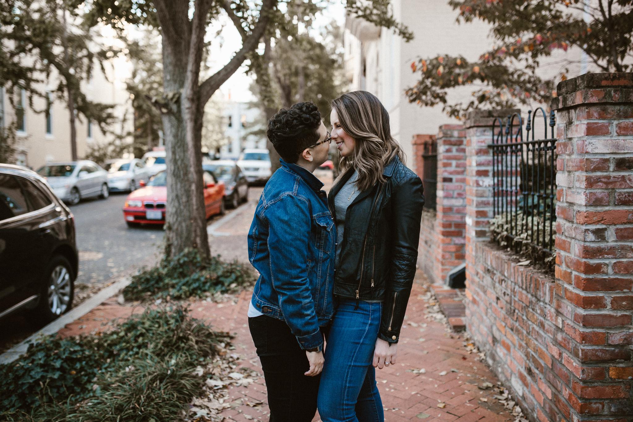 Kristen + McKenzie | Engaged  Washington DC
