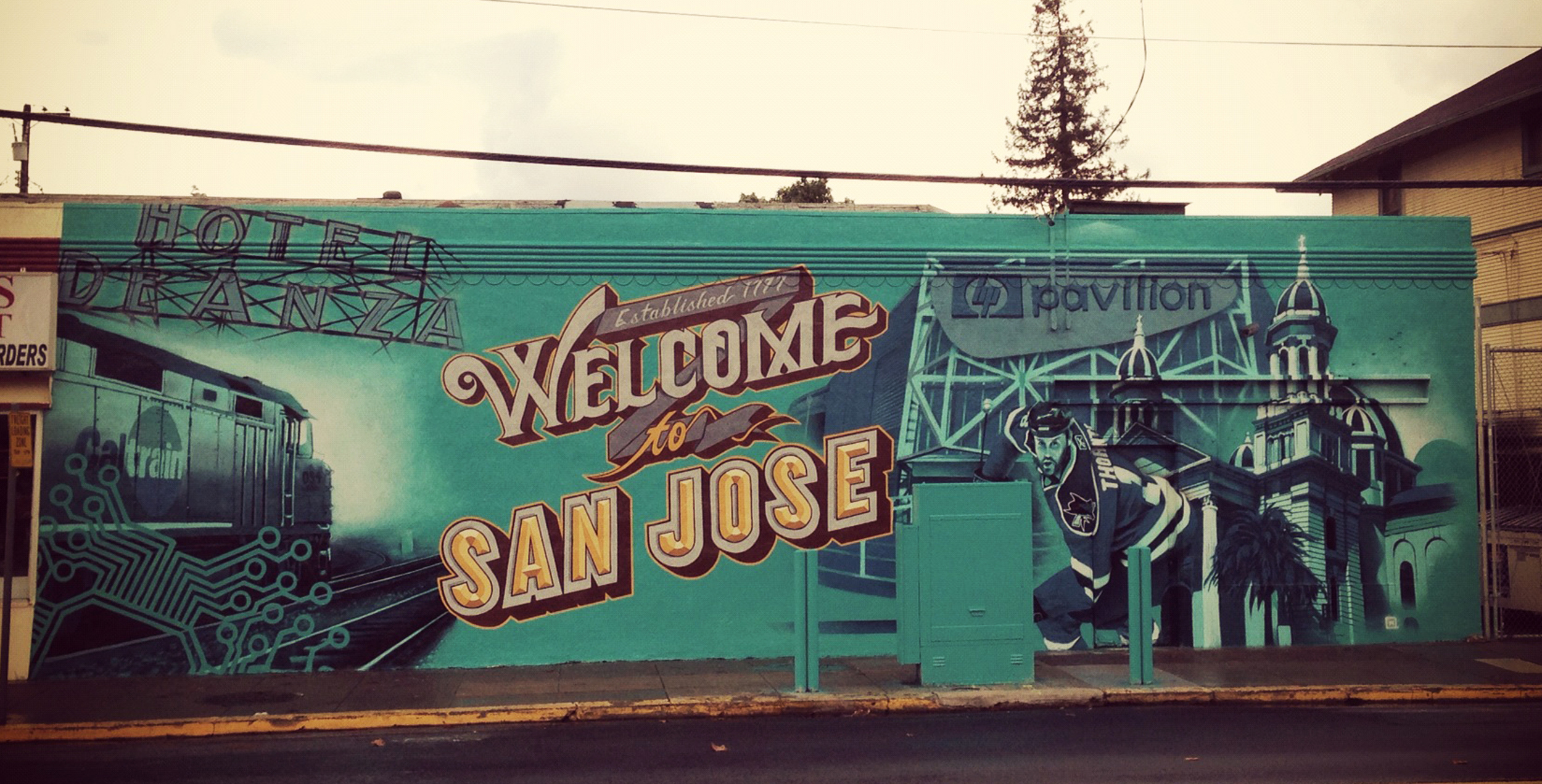 Welcome to San Jose Mural