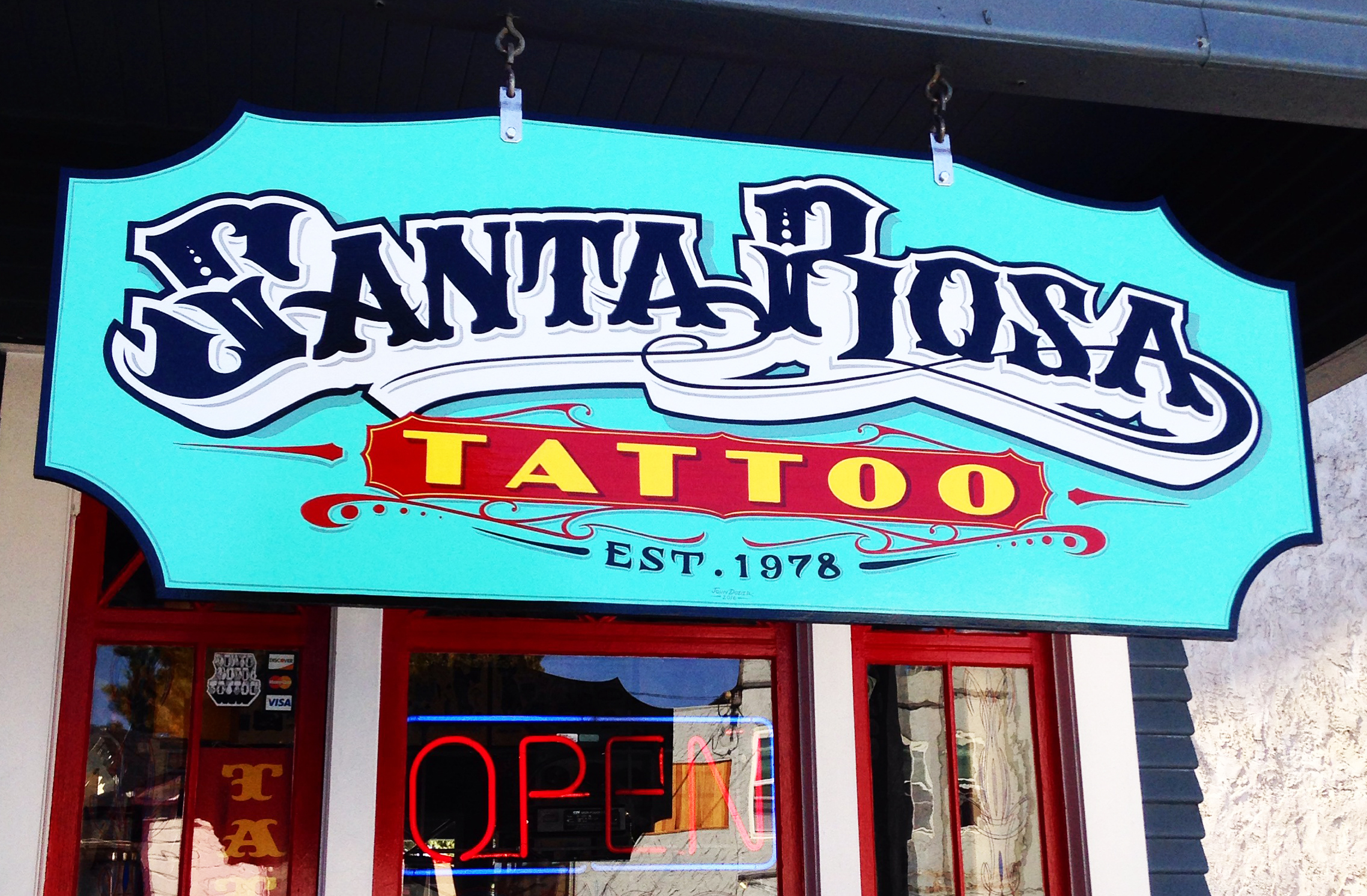 Santa Rosa Tattoo Since 1978