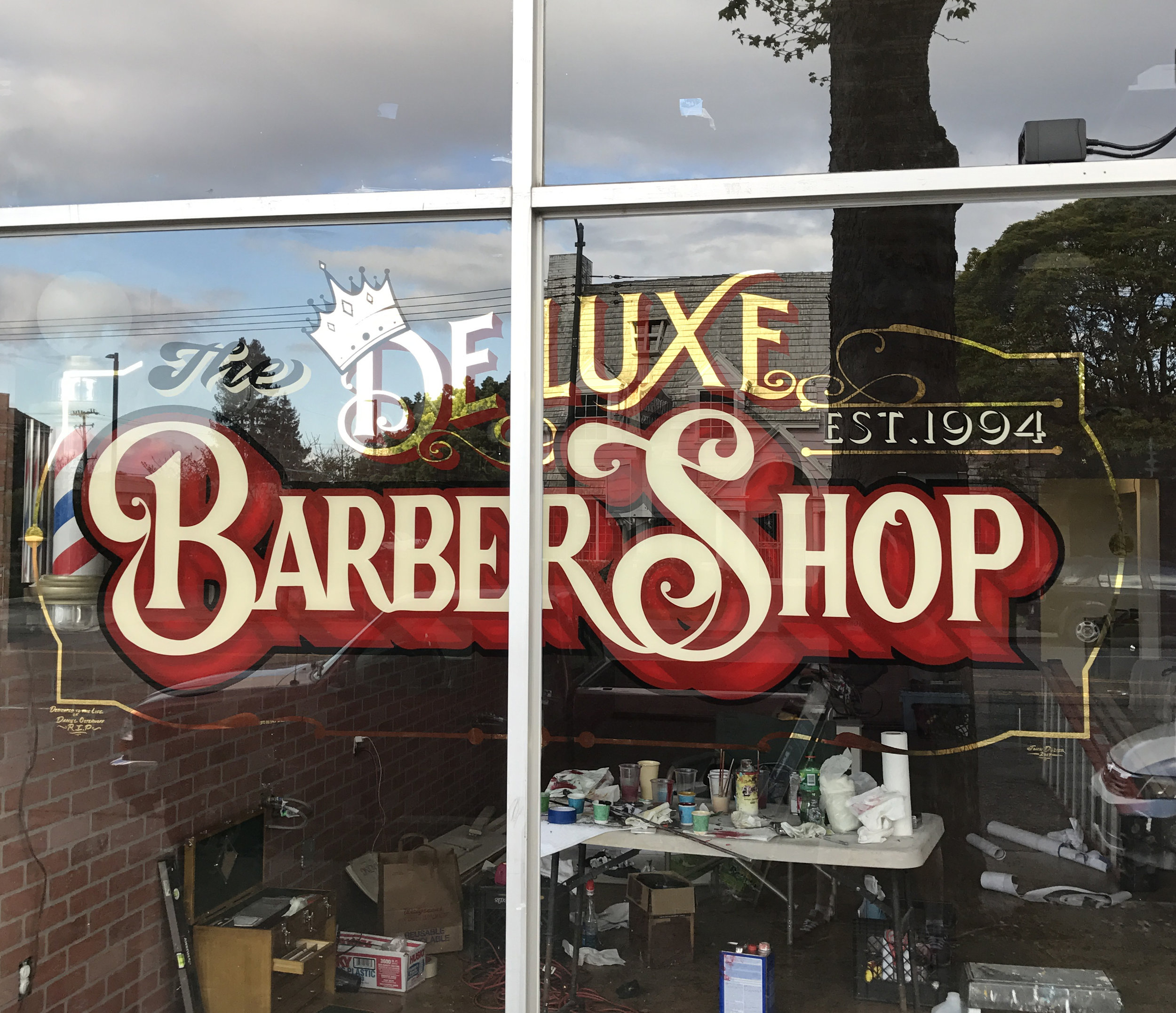 Deluxe Barber Shop Oakland