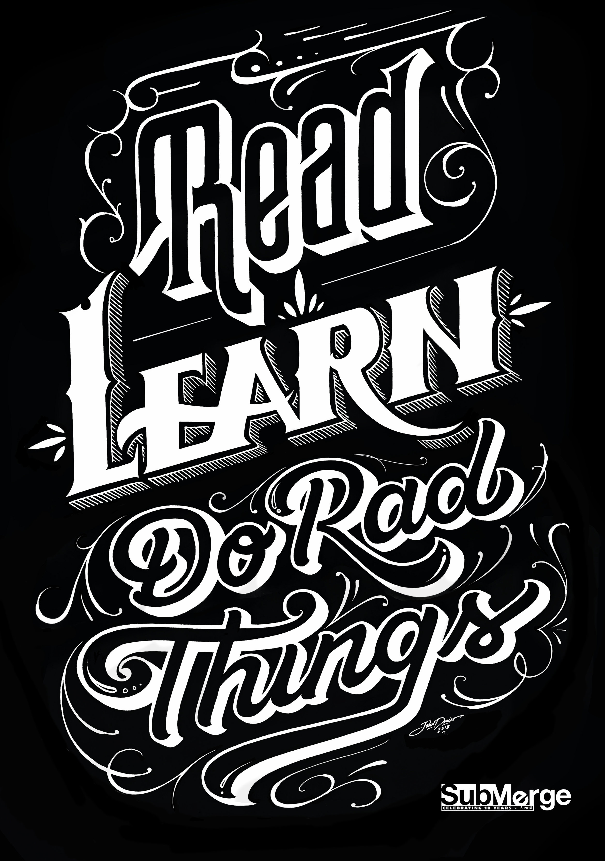 Read Learn Do Rad Things