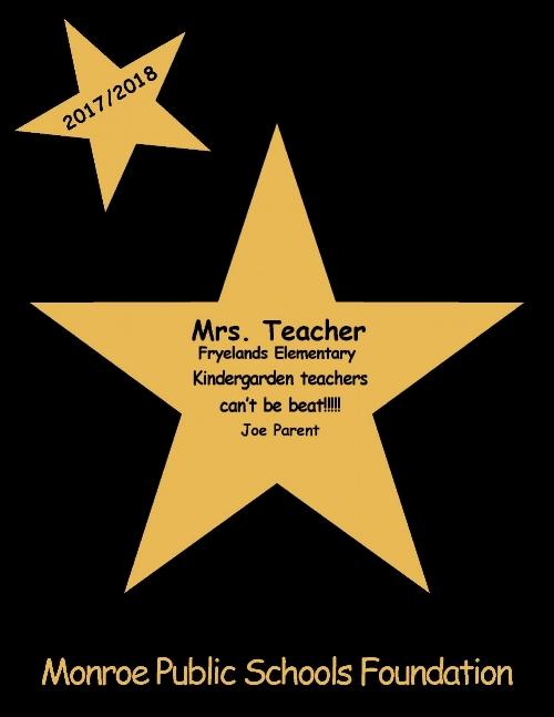 Example STAR Award