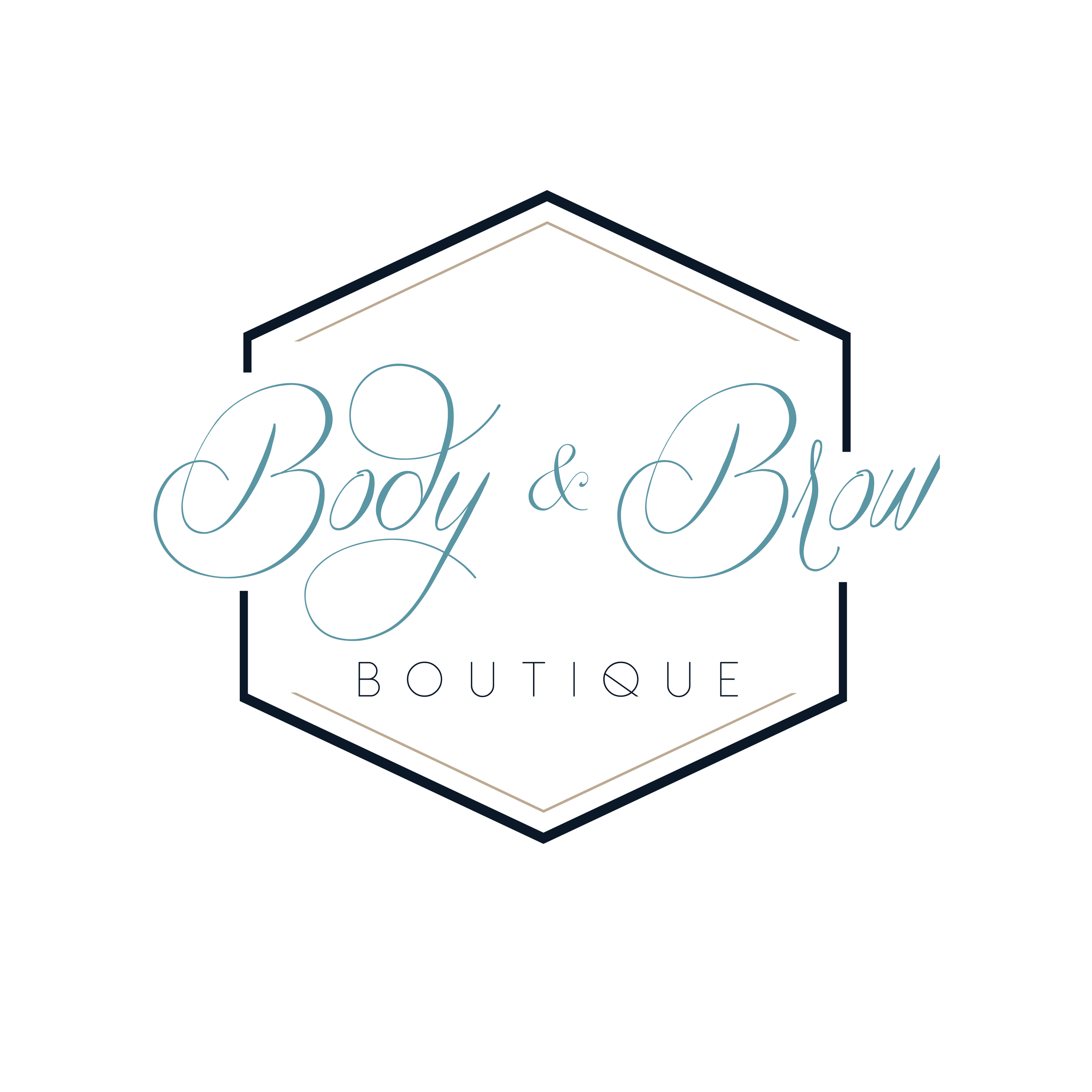 Body and Brow Boutique Logo