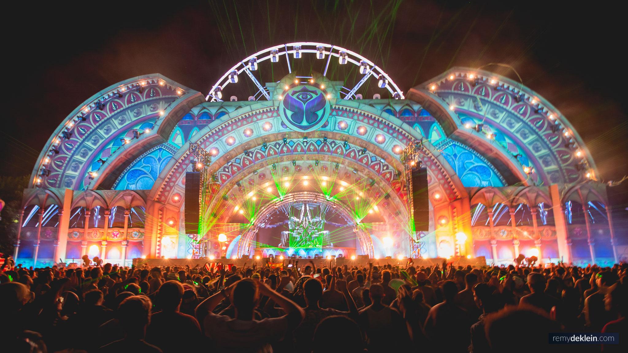 Tomorrowland Opera stage 2014