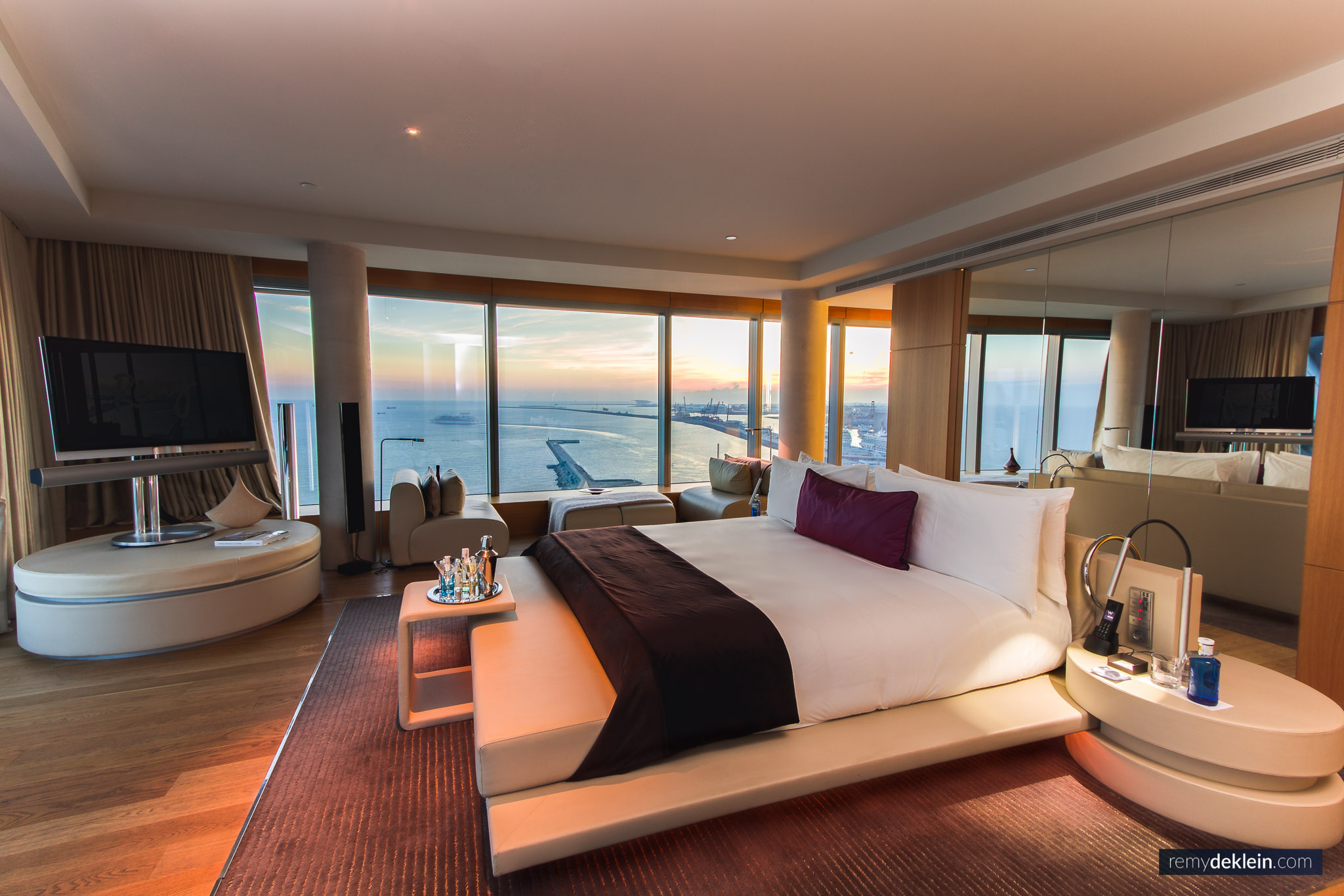Presidential Suite at W Hotel Barcelona