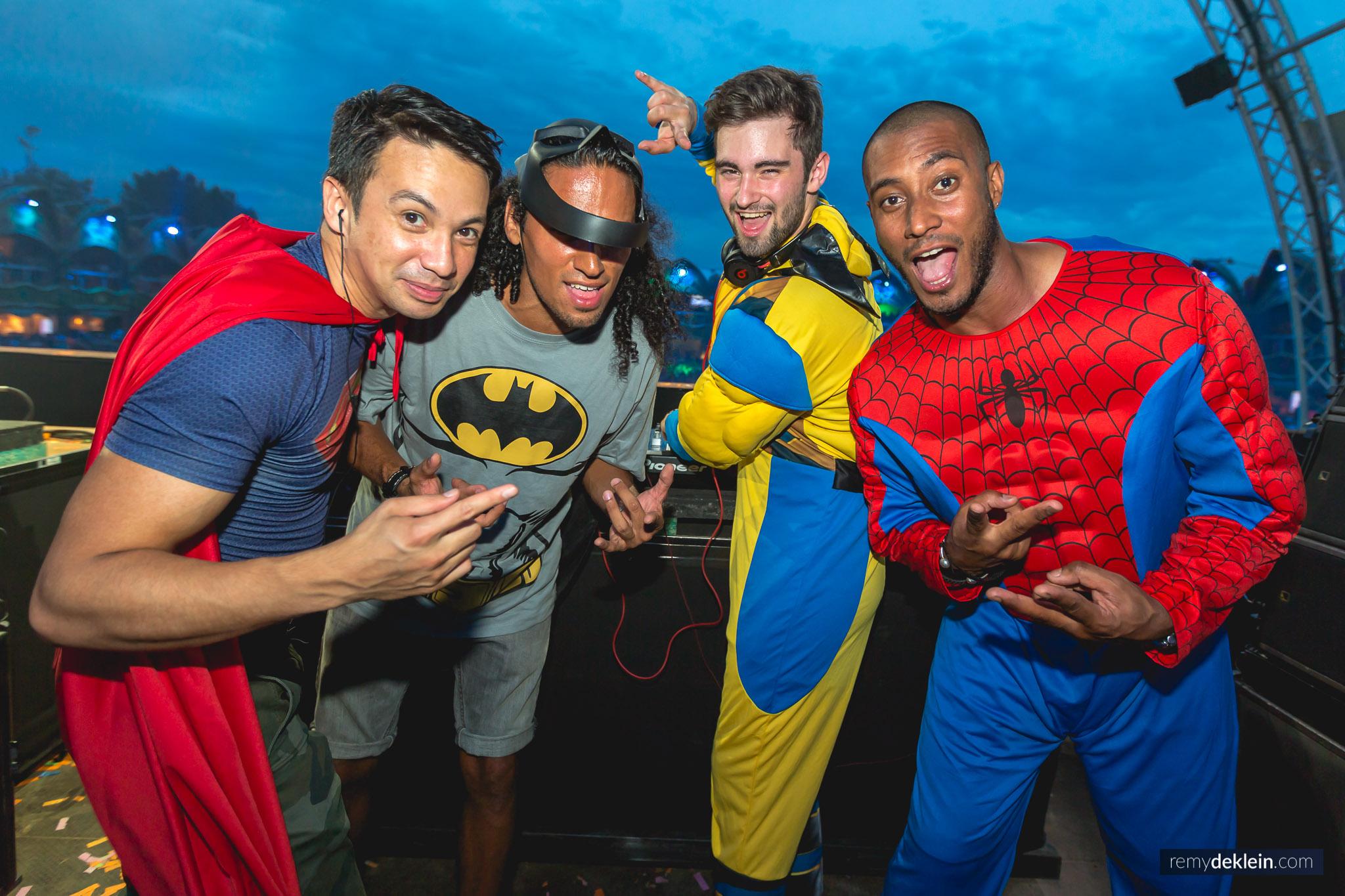 Laidback Luke, Sunnery & Ryan and Dyro Tomorrowland
