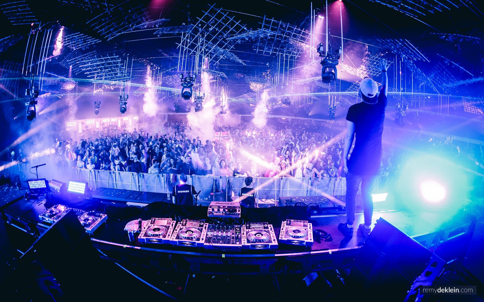 Thomas Newson at Tomorrowland