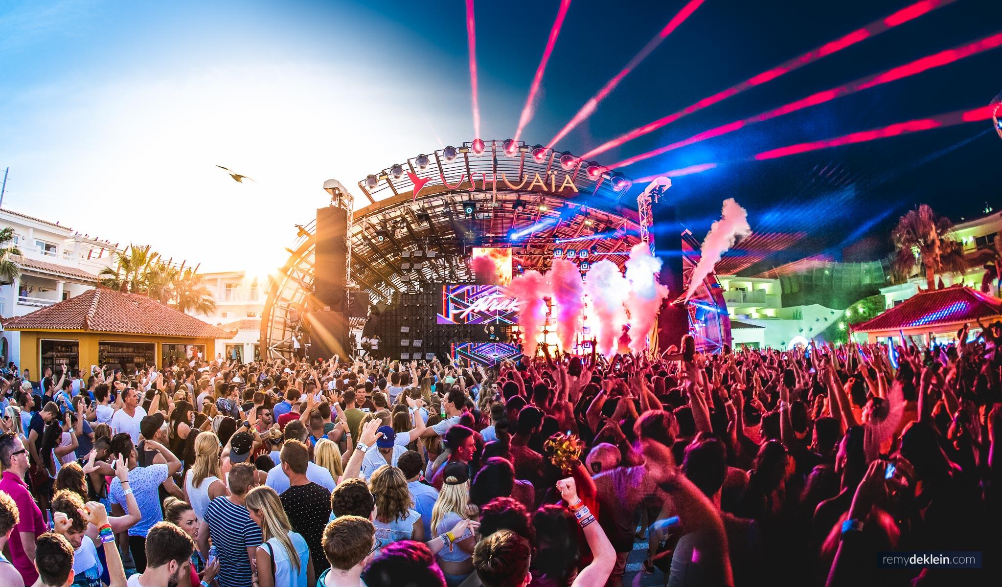 Ushuaia Ibiza at Martin Garrix Multiply with A-Trak