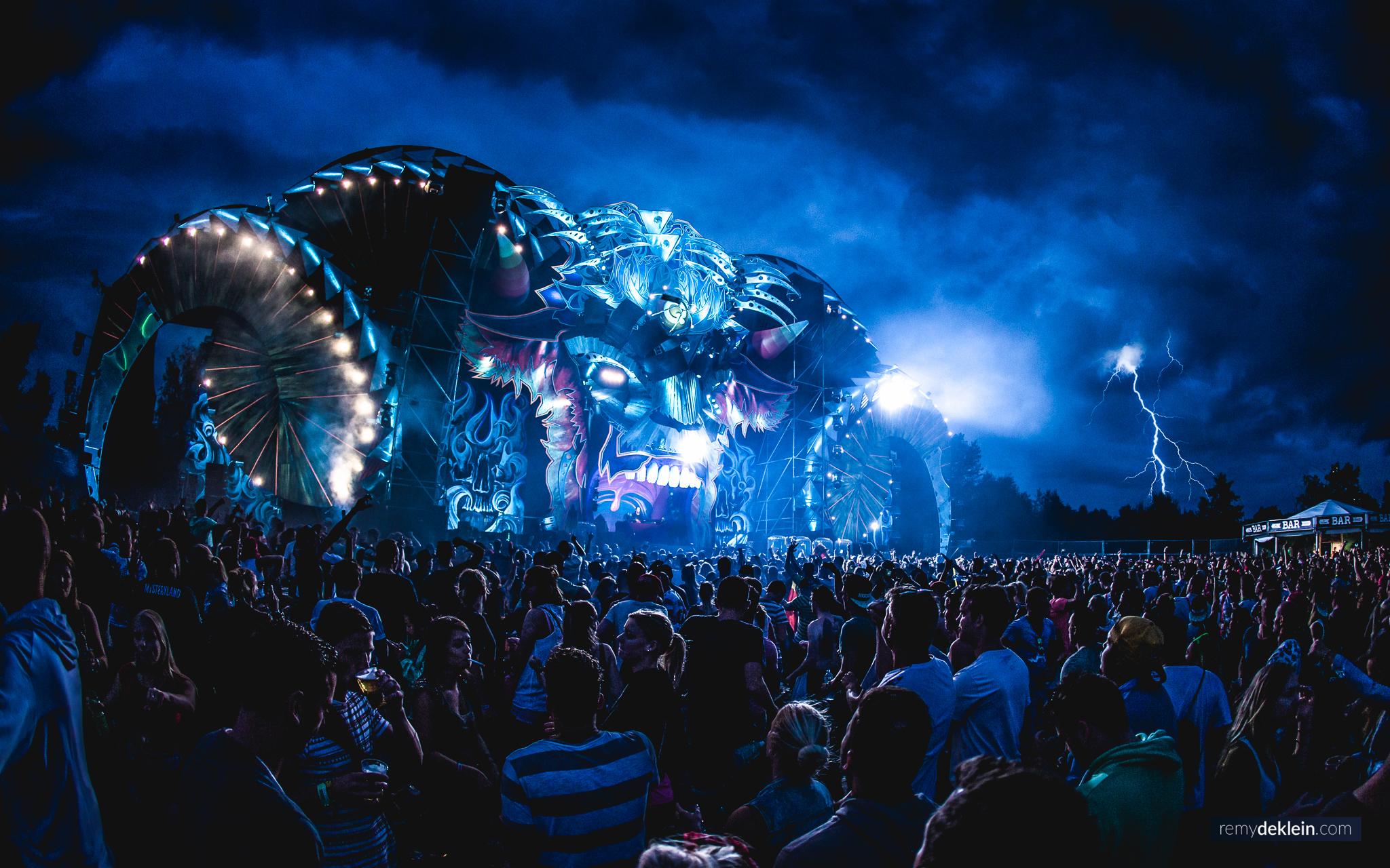 Mysteryland 2016 Q Dance Lightning