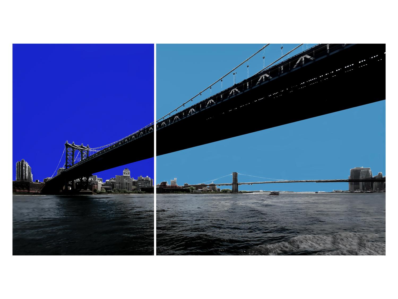 2 Bridges, 2 Blues.