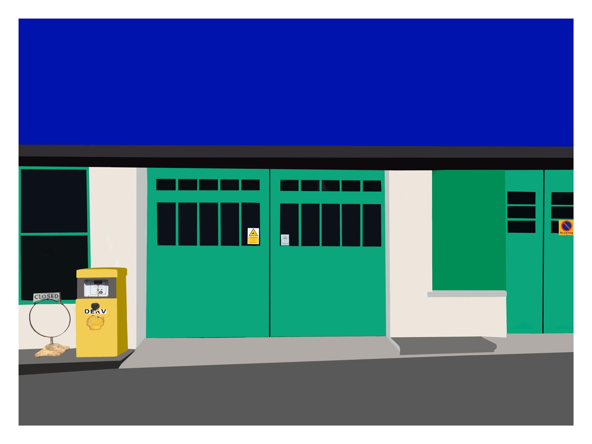 Southdown Garage 8 Colour.