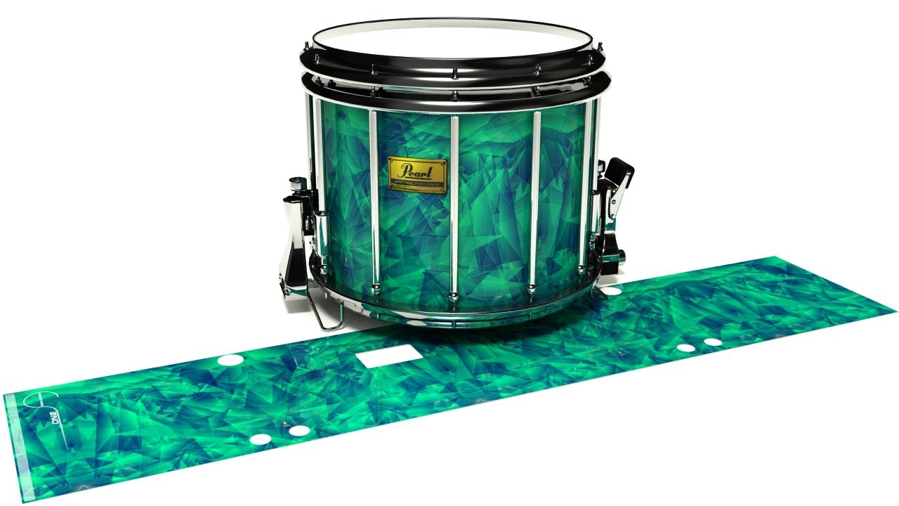 Aqua Cosmic Glass