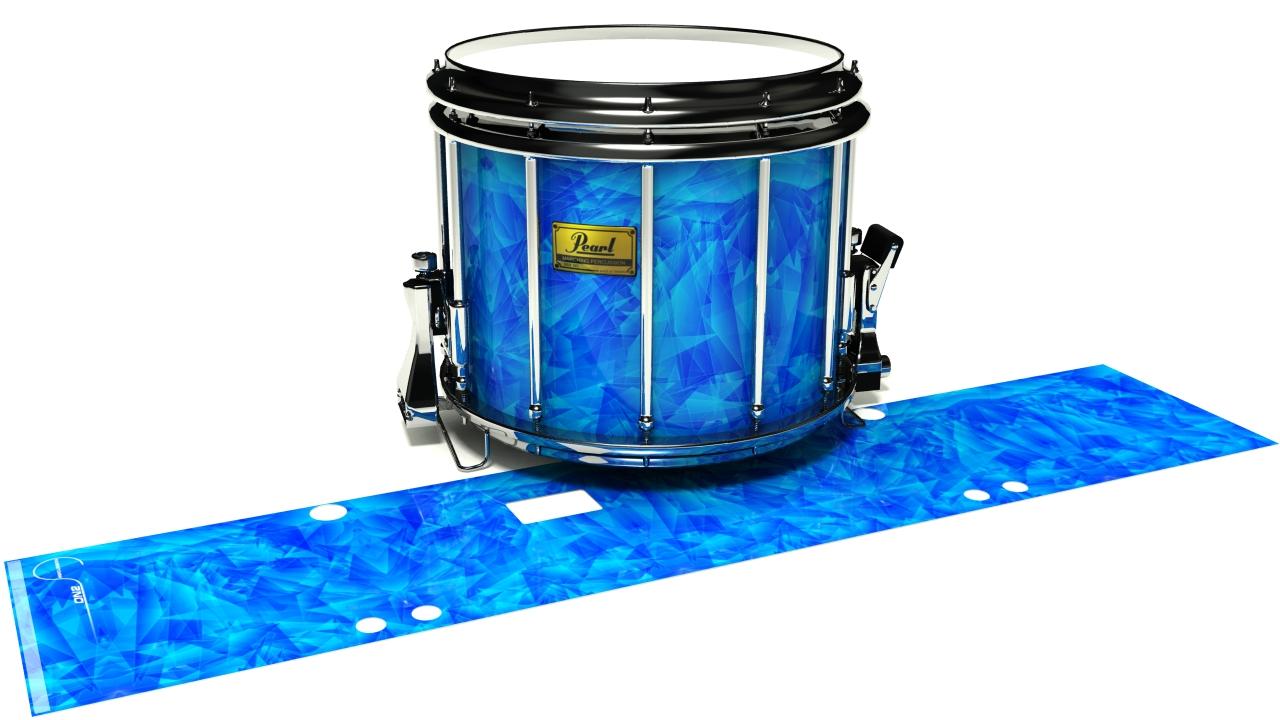 Blue Cosmic Glass