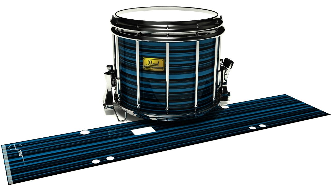Blue Horizon Stripes
