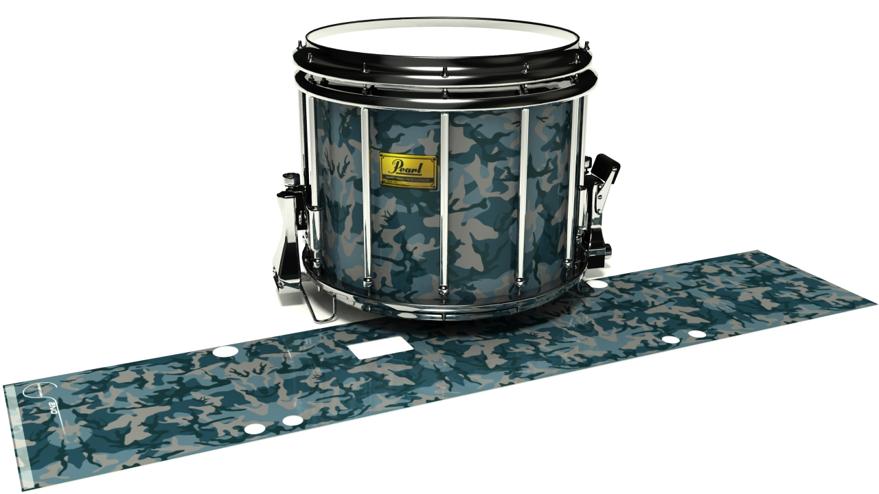 Blue Slate Traditional Camouflage
