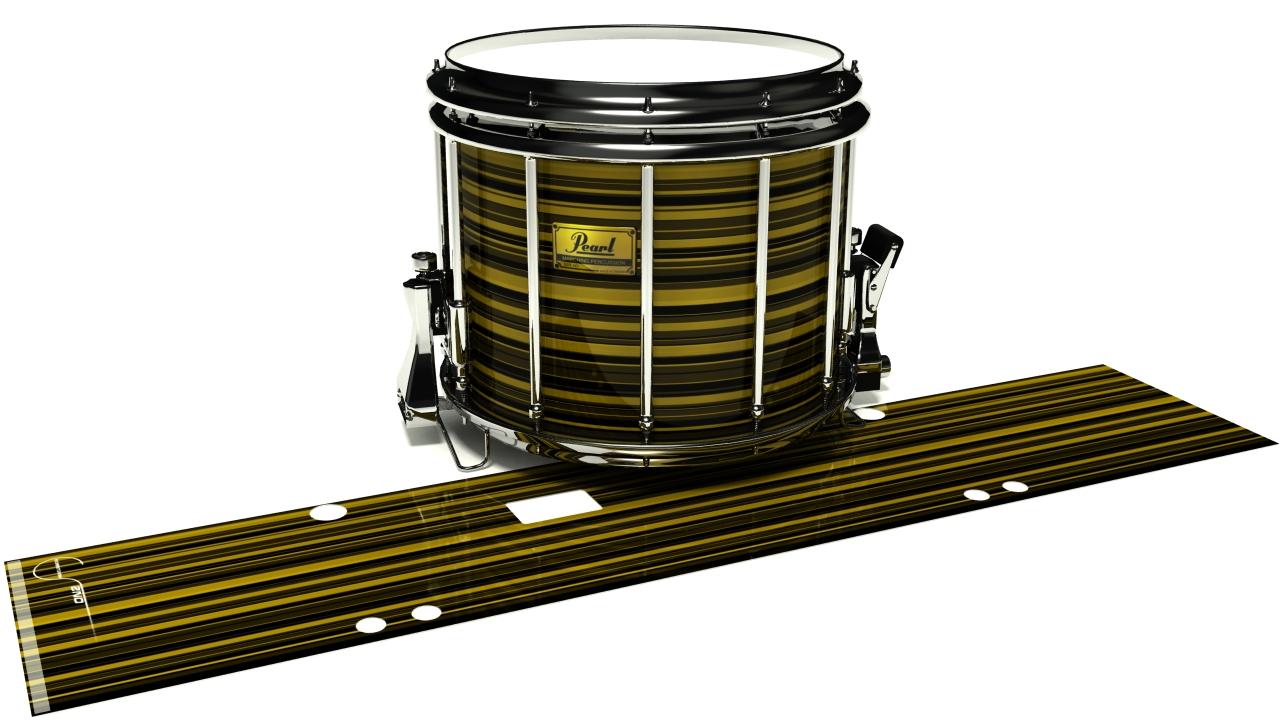 Gold Horizon Stripes