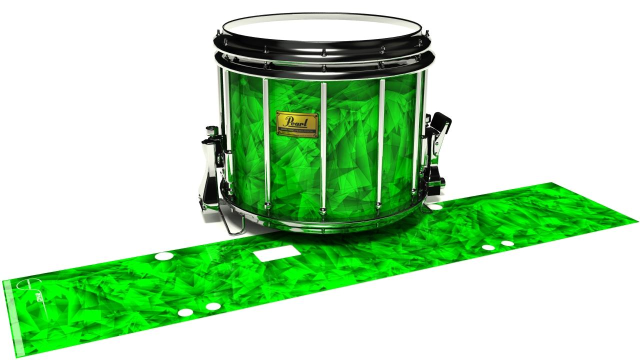 Green Cosmic Glass