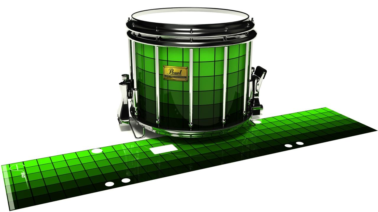 Green Digital Gradient