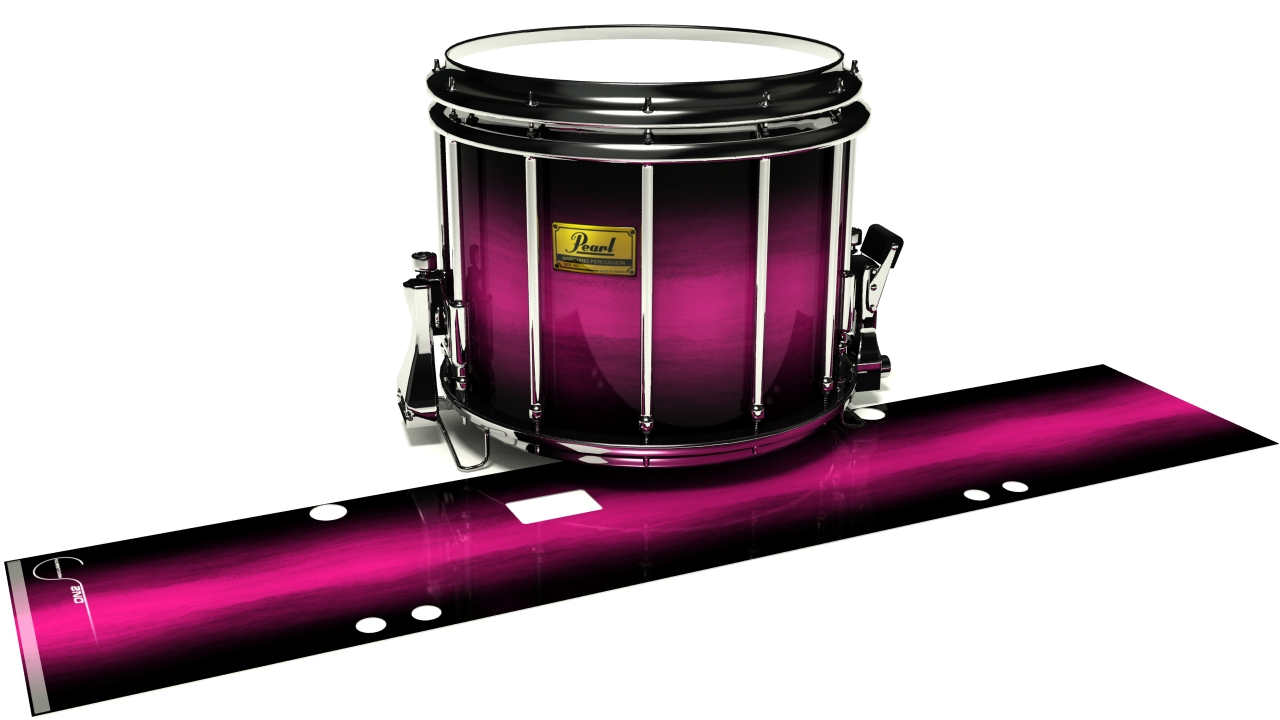 Hot Pink Stain Fade
