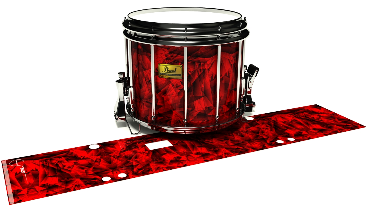 Red Cosmic Glass