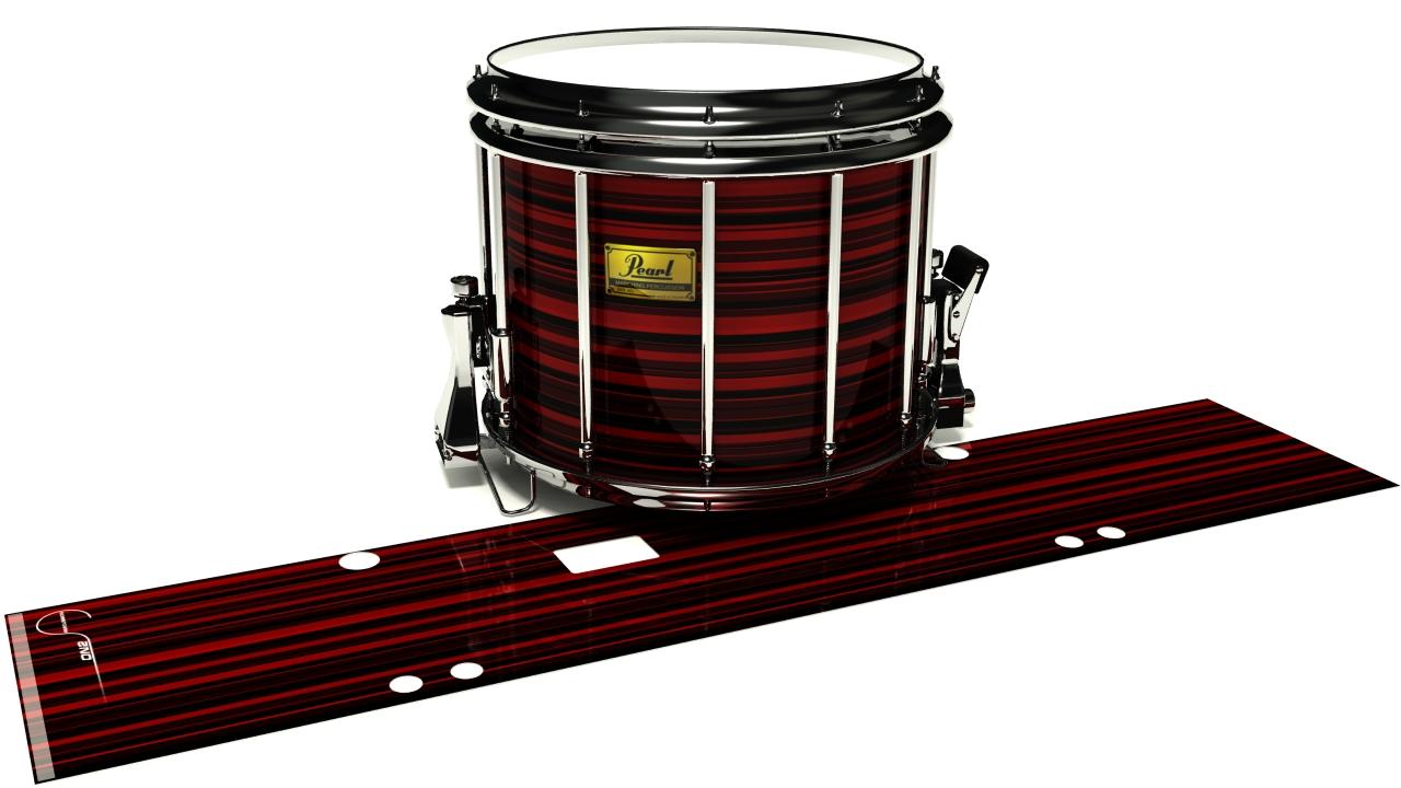 Red Horizon Stripes