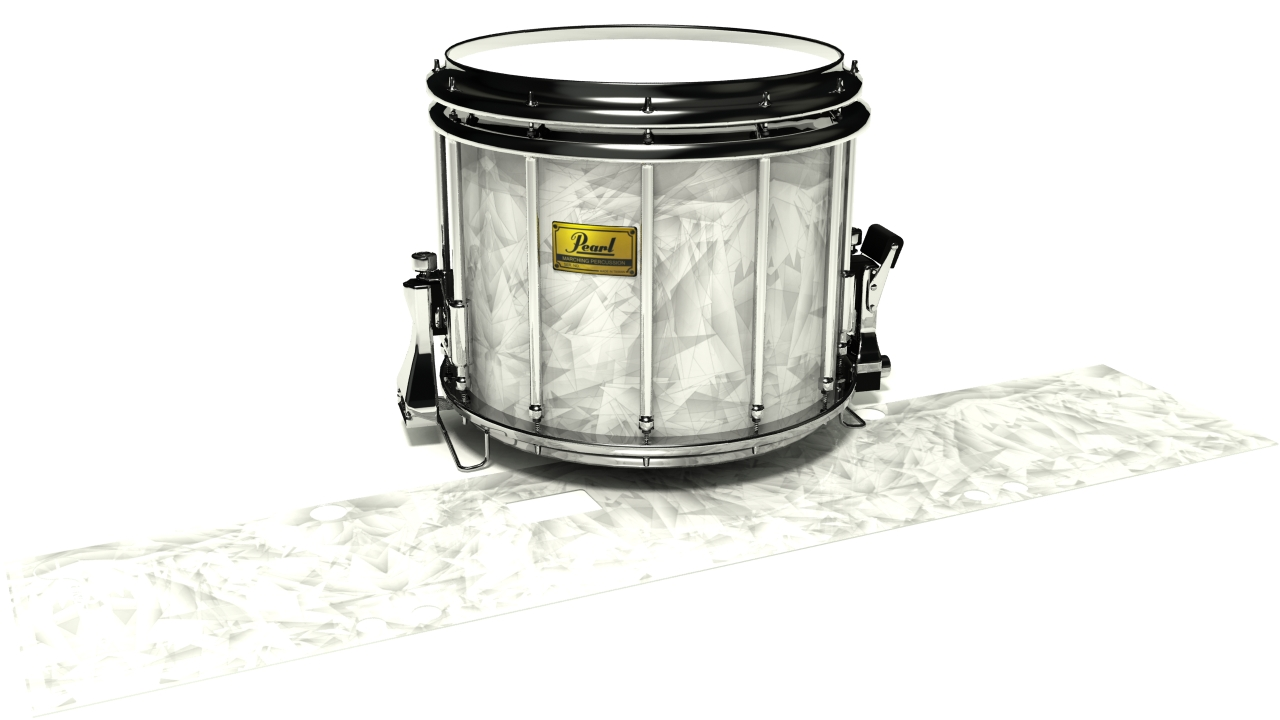 White Cosmic Glass