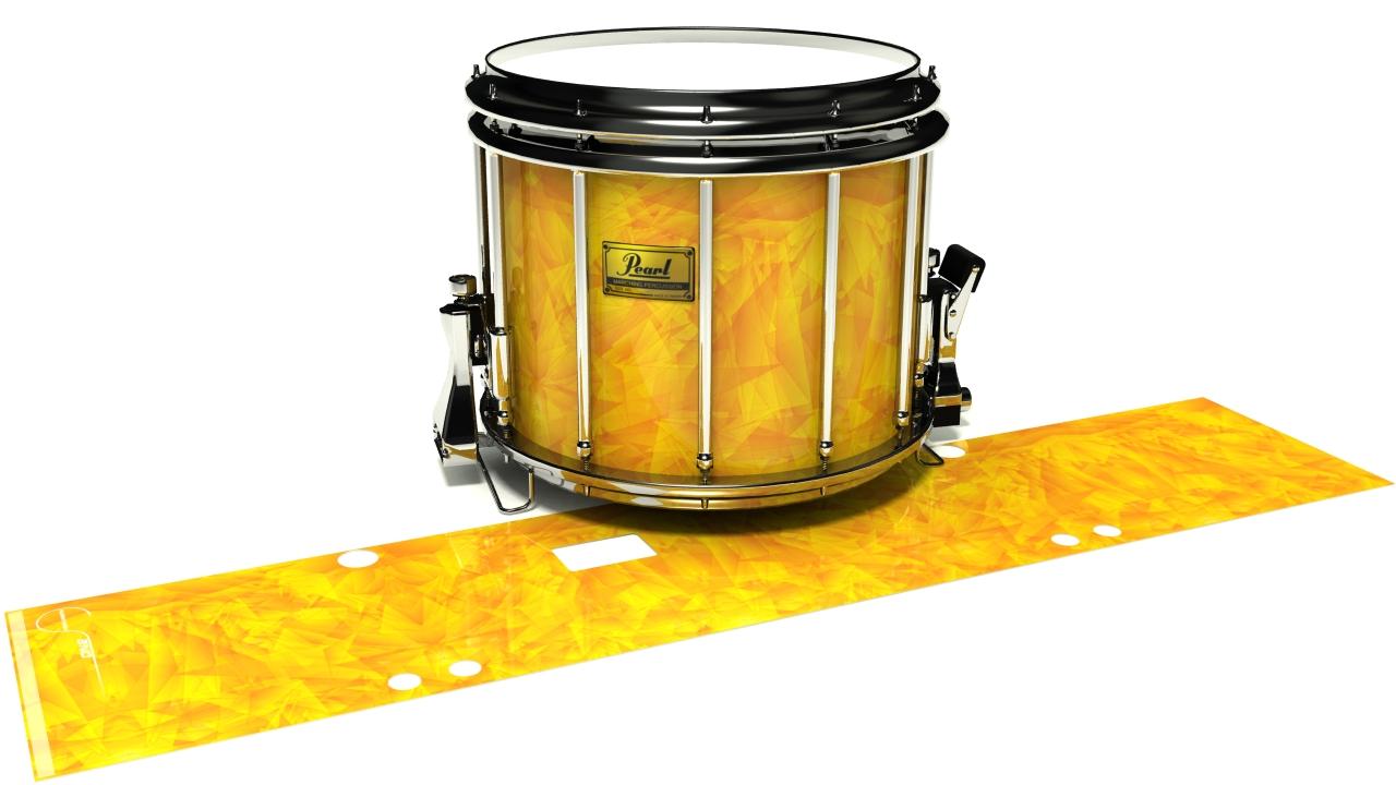 Yellow Cosmic Glass
