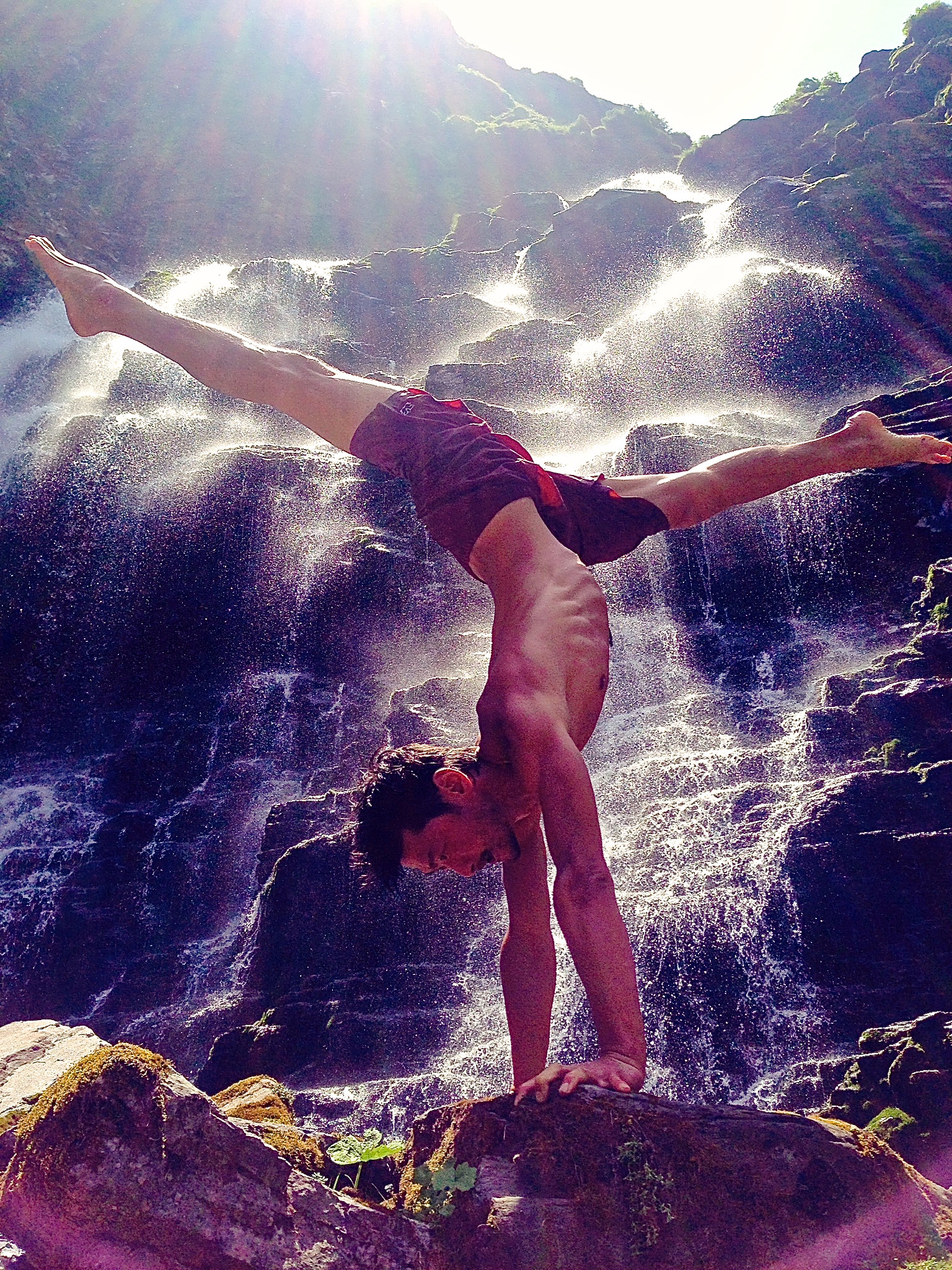 Samoens Waterfall Hanuman Handstand .jpg
