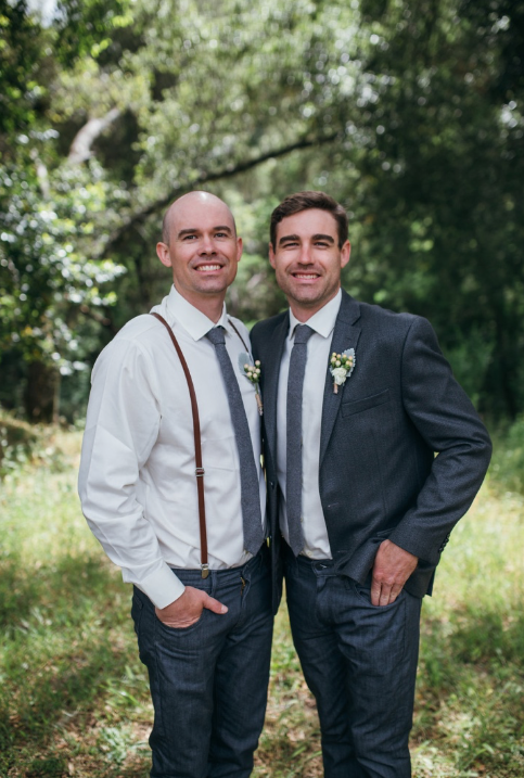 My brother & I on his wedding day!