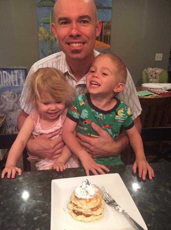 Celebrating my birthday with Anderson & Greta