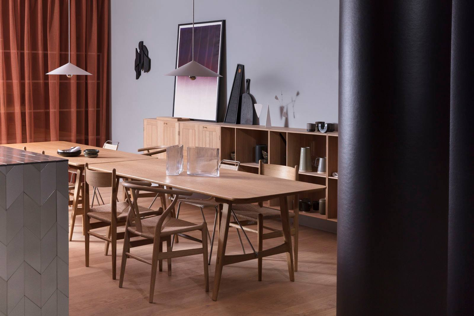From Carl Hansen & Sons, Salone Del Mobile. Milan 2018. Styling Despina Curtis, Photography Ben Anders.