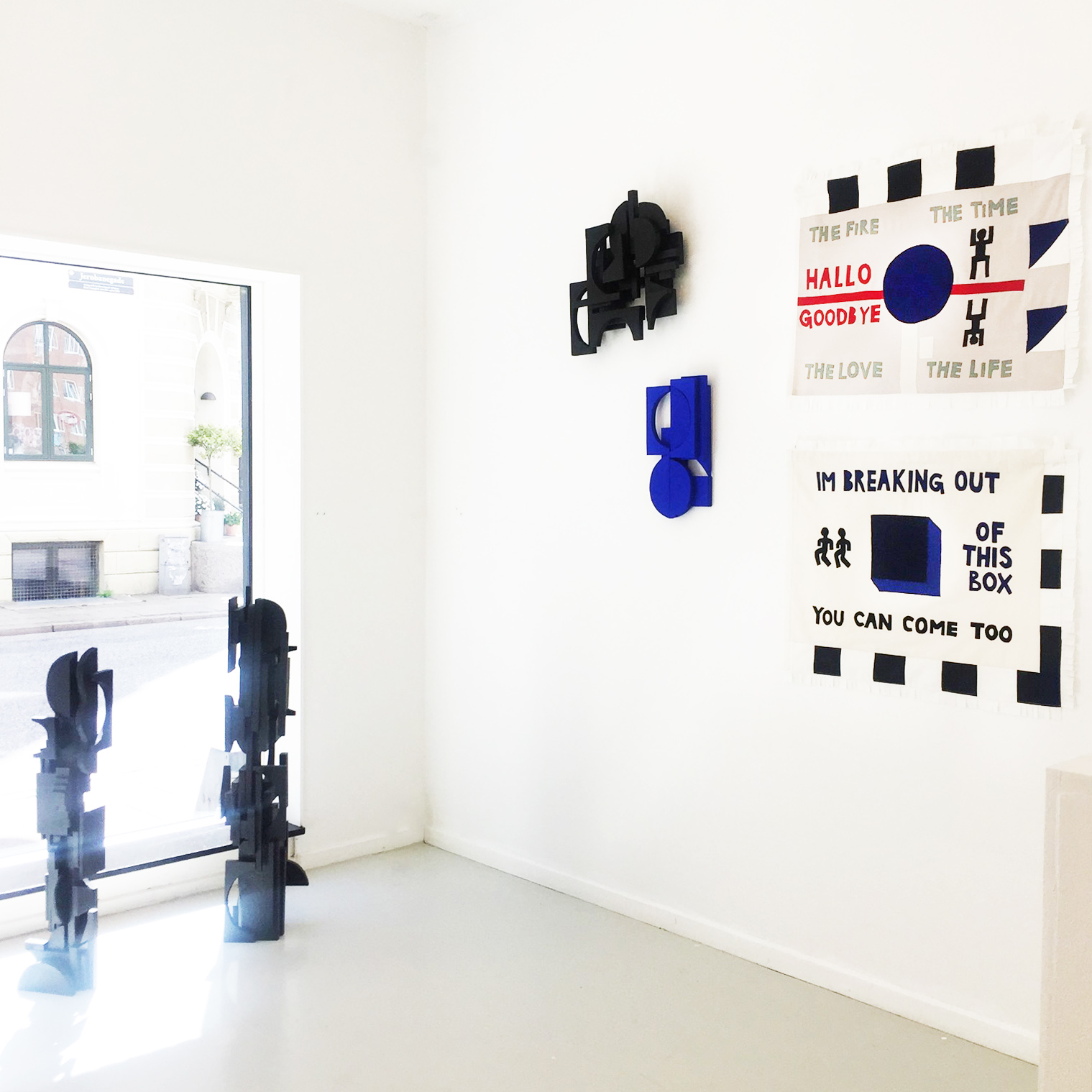 Væg Contemporary Art Gallery. Jernbanegade 20A. Aalborg DK. 2019