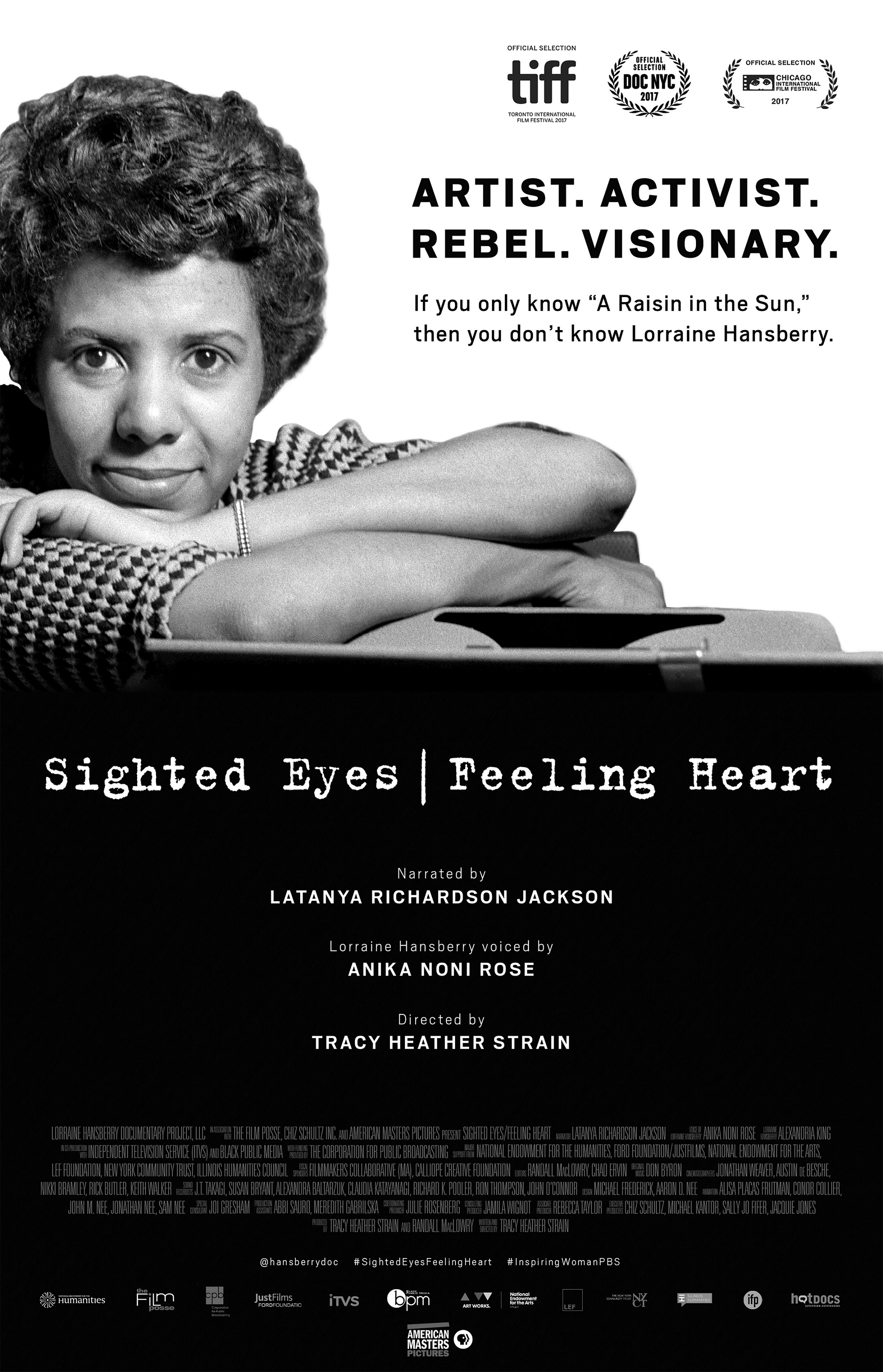 The first feature documentary about Lorraine Hansberry -
