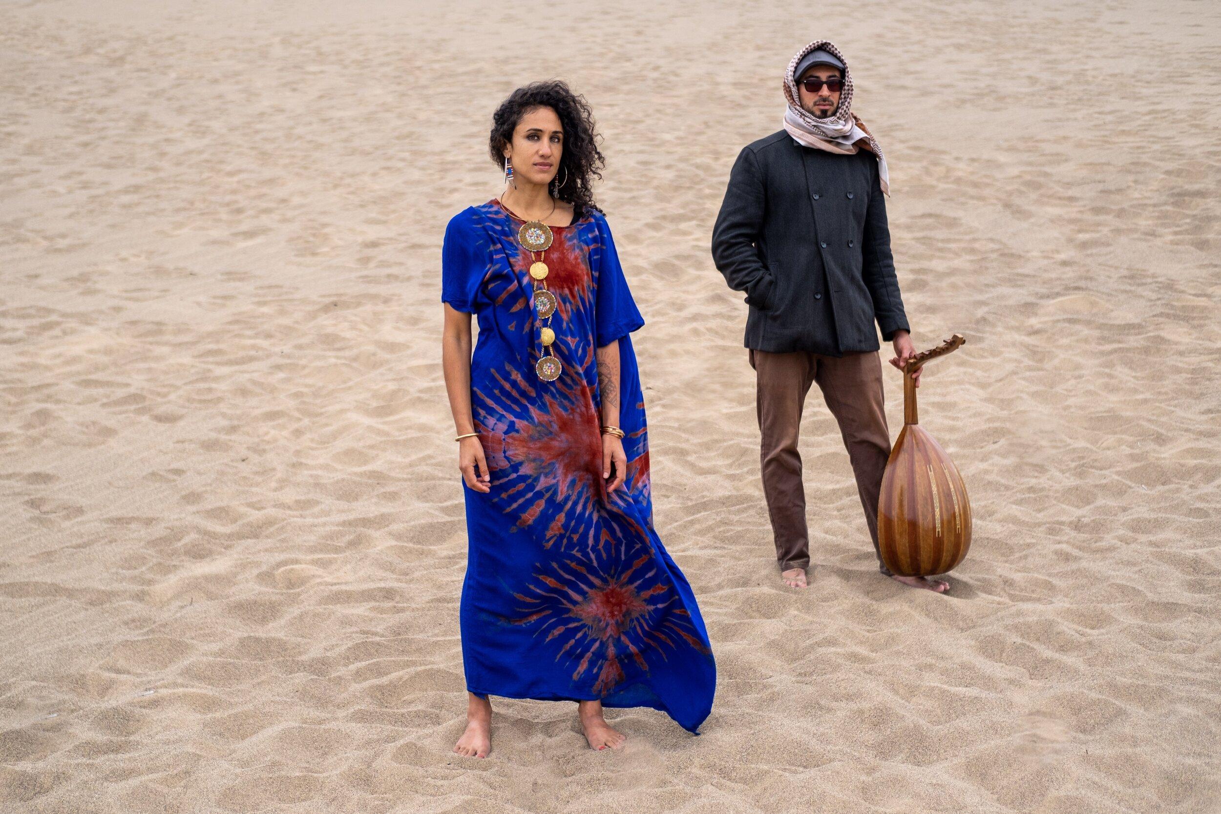 Naima Shalhoub & Tarik Kazaleh