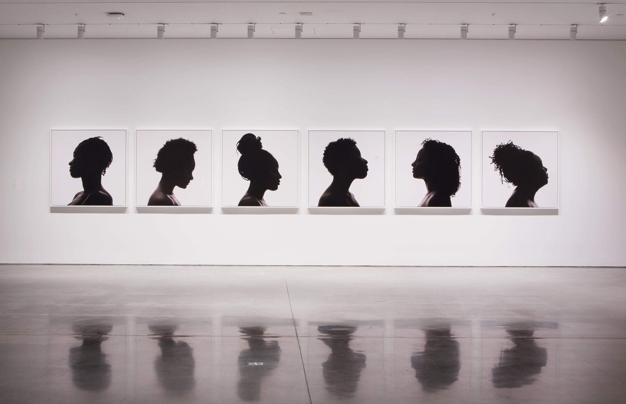 Silhouettes,  BAMPFA. March 8–June 11, 2017 Photo credit: Sibila Savage