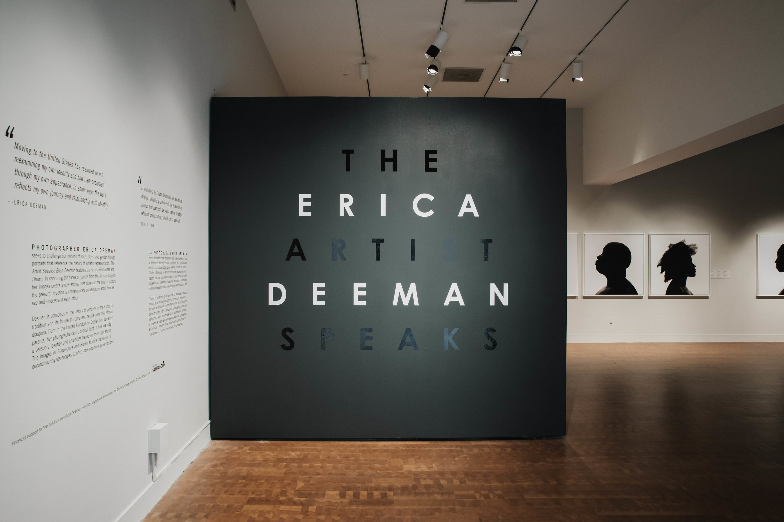 Erica Deeman: The Artist Talks   Museum of Photographic Arts, San Diego 21st April - 16th September 2018