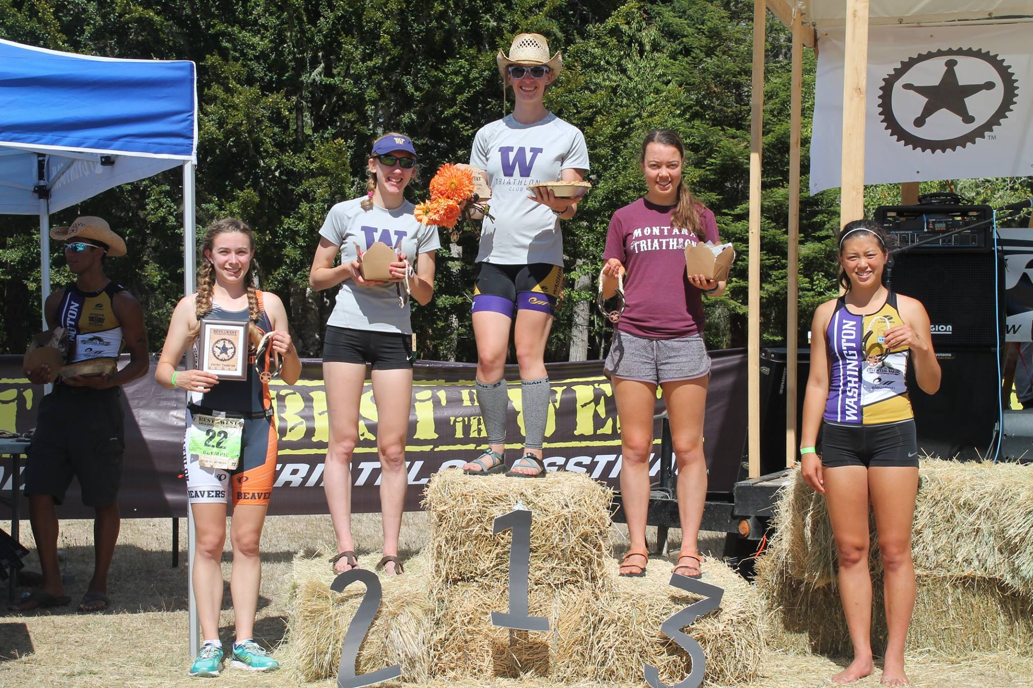 2015 Northwest Conference Top 5 Women