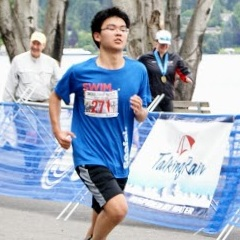 Alex Zhou - Computer Science Major3x Olympic Triathlon Finisher2019 Club Collegiate Nationals Finisher