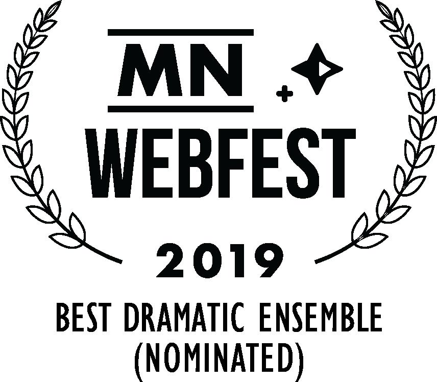 Minnesota WebFest (Best Dramatic Ensemble (Nominated)) (black).png
