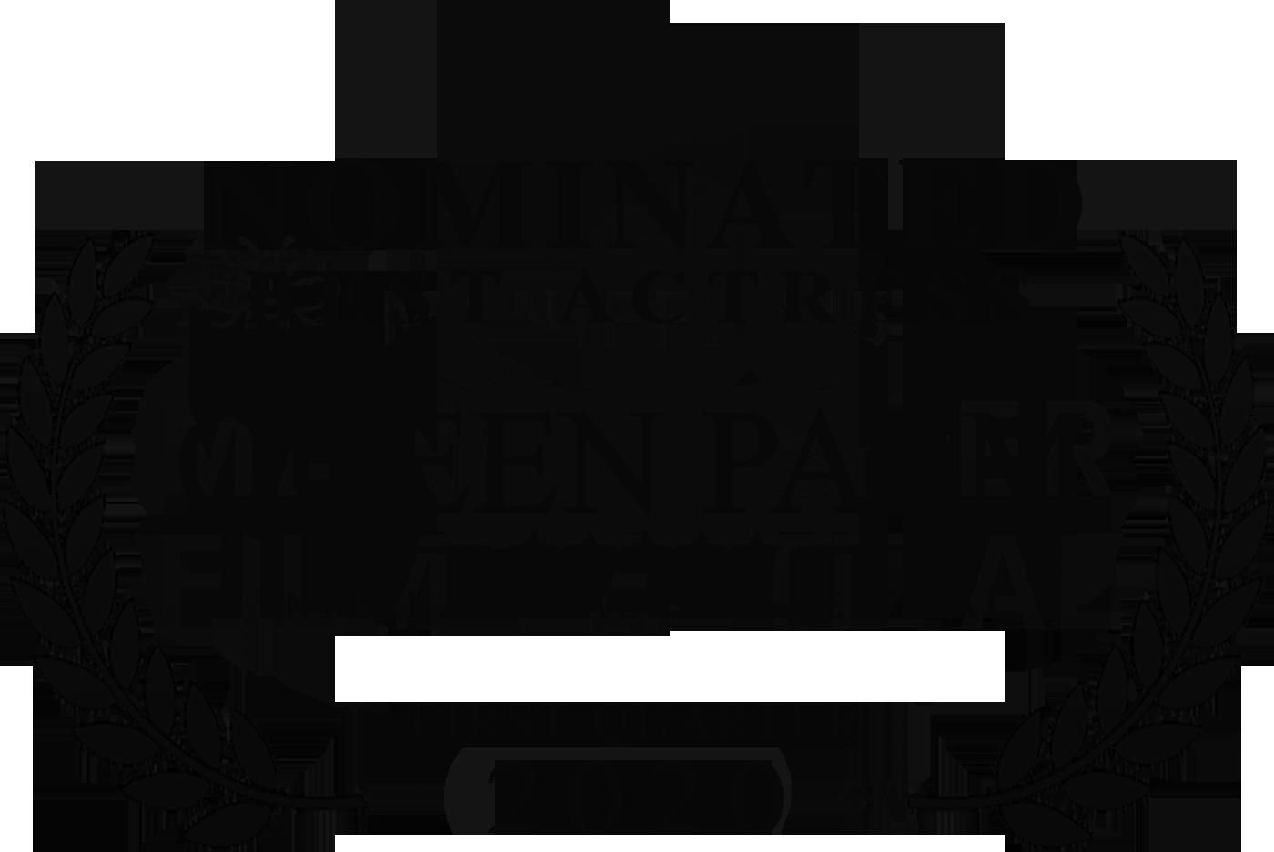 Queen Palm International Film Festival (Best Actress) (black).png