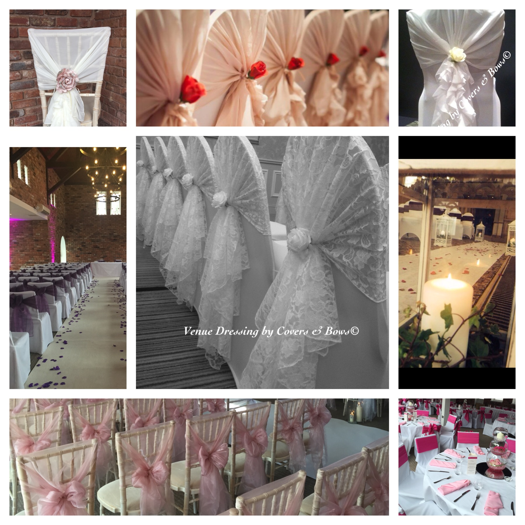 Covers & Bows Venue Dressing